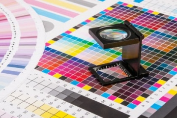 Offset printing processing